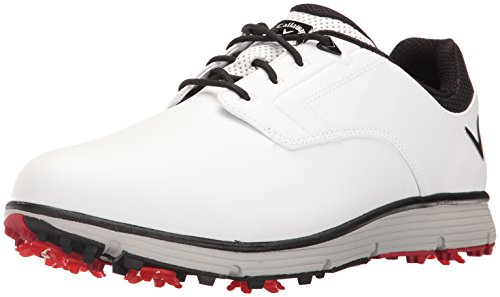 Callaway Men's LaJolla Golf Shoe, White, 9.5 D US