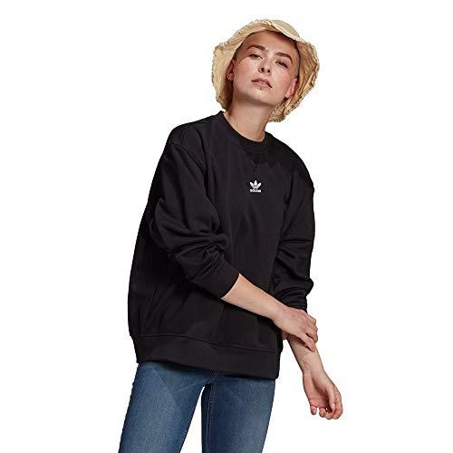 adidas Womens Sweatshirt Pullover, Black, 42