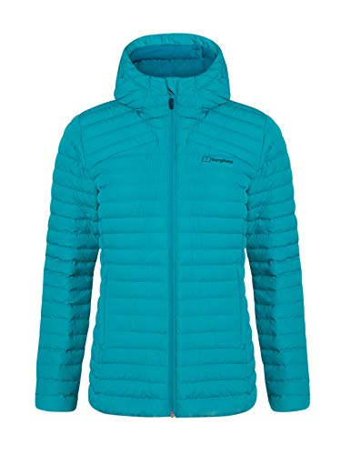 Berghaus Women's Nula Micro Synthetic Insulated Jacket, Capri Breeze, 10