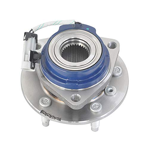 MAYASAF 513121 Axle Bearing Front Wheel Hub and Bearing Assembly 5 Lug w/ABS for Chevy Impala Venture, Buick Century, Cadillac DTS, Pontiac Grand Prix, Oldsmobile Aurora