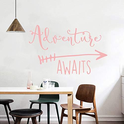 Aventure attend PVC autocollant mural chambre enfant décoration murale maison bricolage décoratif détachable étanche autocollant mural