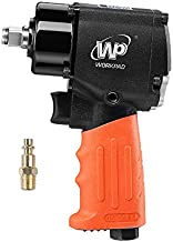 WORKPAD 1/2-Inch Mini Air Impact Wrench with Twin Hammers, Pneumatic Tools