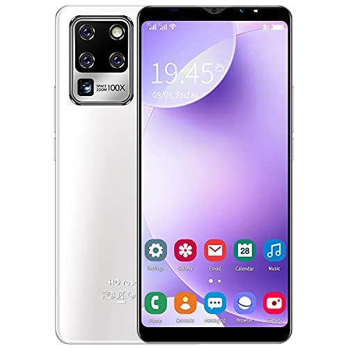 3G Cellulari e Smartphone, 5.5 inch IPS Display, Android OS, 4GB ROM 32GB Espandibili, Batteria 2800mAh, Dual SIM Doppia Fotocamera Telefono Cellulare in Offerta GPS WIFI Bluetooth (S30U-White)