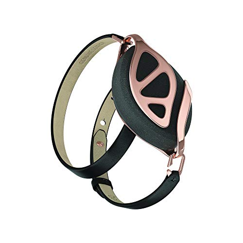Bellabeat Leaf Urban Smart Jewelry Health Tracker, Urban Black / Rose Gold