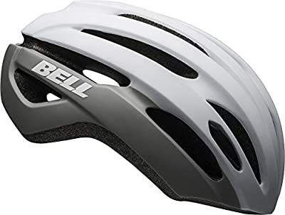 Bell Avenue MIPS Adult Road Bike Helmet - Matte/Gloss White/Gray (2021), Universal Adult (53-60 cm)