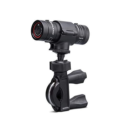 Midland Bike Guardian - Dashcam Videokamera für Motorräder, Lenkerhalterung, Full HD Videos mit Bildstabilisator, IP65 wassergeschützt