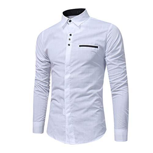 ZGRNPA Men's Flannel Classic Plaid Shirts Long Sleeve Regular Fit Shirts Long Sleeve Slim Fit Casual Formal Shirt Basic Plain Dress Office Casual Button Down Denim Shirts Long Sleeve Dress Shirt