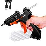 Cordless Hot Glue Gun,USB Rechargeable Mini Hot Melt Glue Gun with 30PCS Glue Sticks(7mm) for Kid DIY Crafts, Crafts Projects