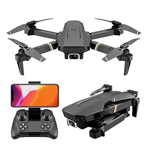 JJDSN Mini Drone para niños con cámara 4K, WiFi FPV Quadcopter RC Plegable para Principiantes Tiempo de Vuelo de 60 Minutos Gran Regalo para niños y niñas