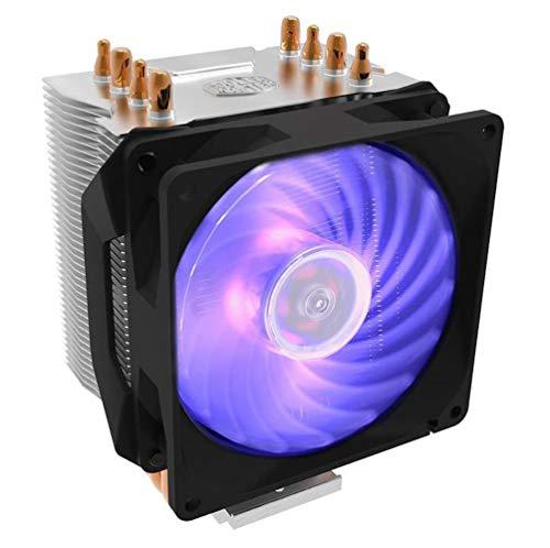 Hyper H410R RGB Procesador Enfriador 9,2 cm Negro, Plata
