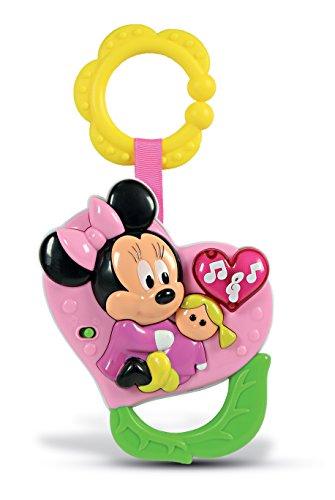 Clementoni - 14979 - Hochet électr. C¿ur Baby Minnie - Disney - Premier age