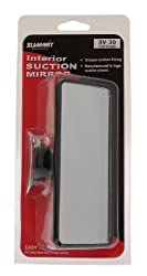 rear view mirror Attaches using a suction cup Easy to fit Approximate size: 15.5 x 7cm (L x W)