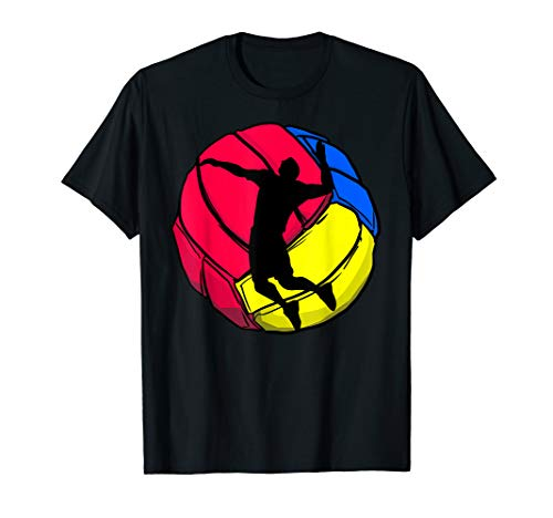 Volleyballer Trainer Beach Volleyball Spieler Geschenk T-Shirt