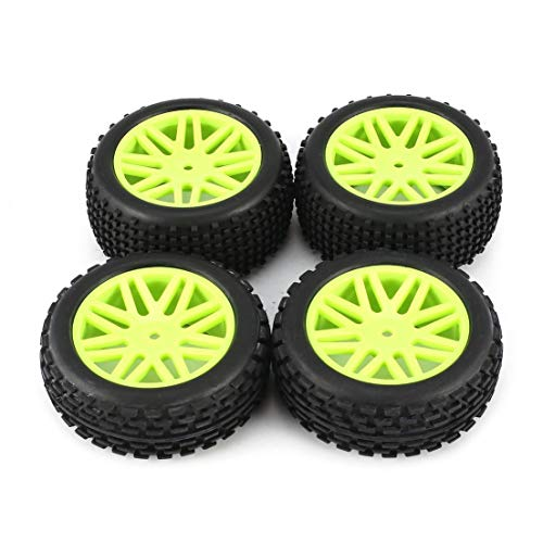 DF-ES 4pcs Universal 1/10 Scale Off Road Buggy Tires