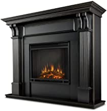 Real Flame Ashley Electric Fireplace, Blackwash