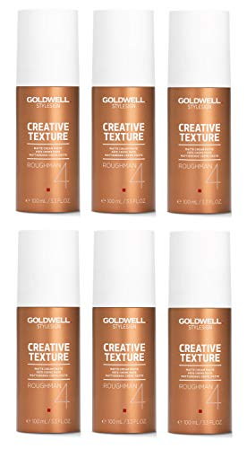 Goldwell Roughman Matt Styling Paste 6er Pack, (6x100 ml)