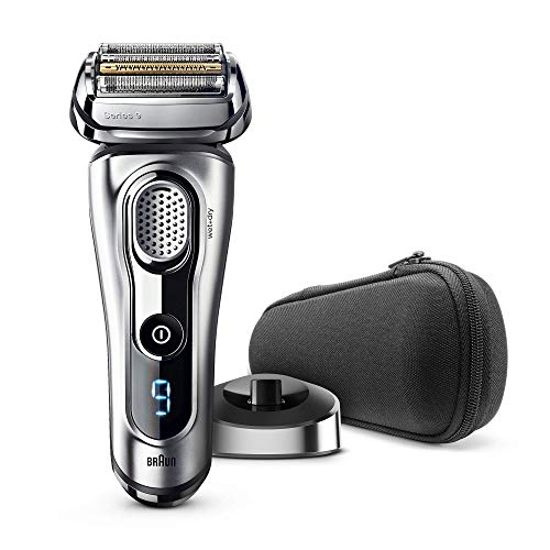Braun Series 9 9260vs Wet and Dry - Máquina de afeitar de láminas (LED, Batería, Ión de litio, 50 min, Plata) + CAbezal de afeitado extra