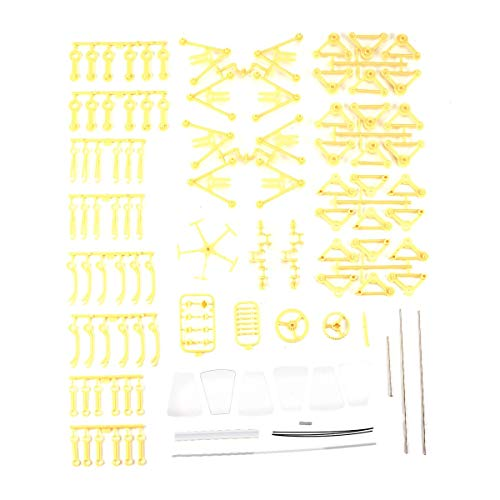 QinKingstore 風力機械式DIYウォーキングウォーカーストランドビーストモデルキット子供向けノベルティ玩具3Dインテリジェンストレーニングジグソーパズル