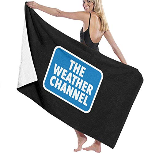 ADGoods The Weather Channel Toallas de Playa Toalla de baño de Microfibra Ultra Absorbente Picnic Mat para Hombres Mujeres Niños