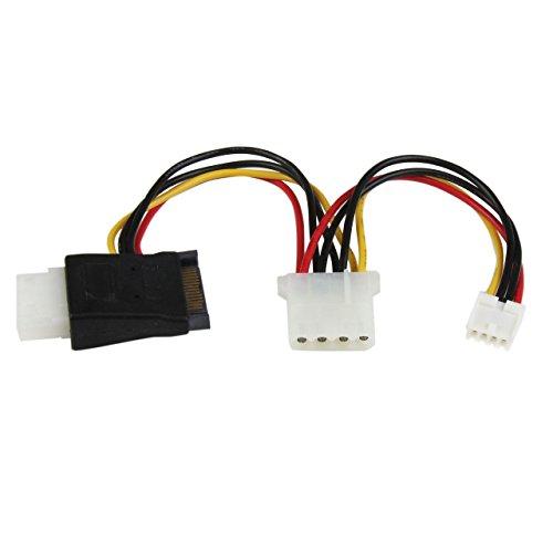 StarTech.com LP4SATAFMD - Adaptador de Cable de alimentació