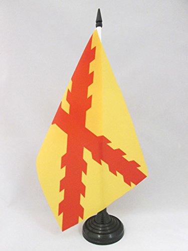 AZ FLAG Bandera de Mesa de ESPAÑA TERCIOS MORADOS Viejos 21x14cm - BANDERINA de DESPACHO Ejercito ESPAÑOL 14 x 21 cm