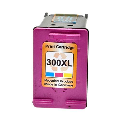 Tintenpatrone für HP Nr. 300XL Color - Farbig 18ml, kompatibel zu cc644ae