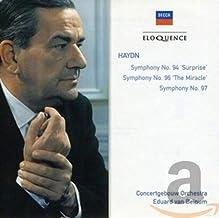 Haydn: Symphonies 94, 96, 97