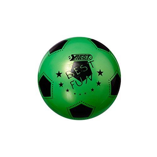 Best Sporting PVC-Ball Fun, 23 cm, Fußball Spielball Beachball Wasserball, grün