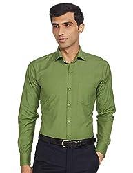 The Standard Mens Casual/Formal Wear Shirt, Plain Shirt Green (SKU0043)