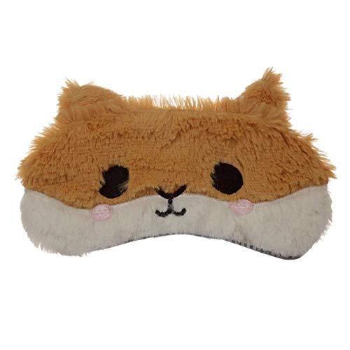 Fun Eye Mask - Plush Hamster EPP21