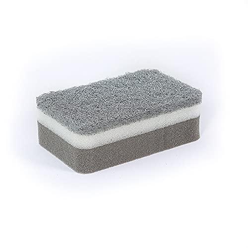 HRTX Decontaminatie afwassen spons, veeg dubbelzijdig servies magische reiniging spons, een badkamer en een keuken vloer plint muur cleaner