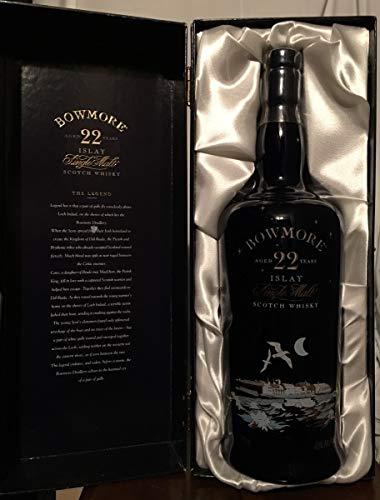 Bowmore 22yo Islay Legend Decanter caja old bottle 70cl