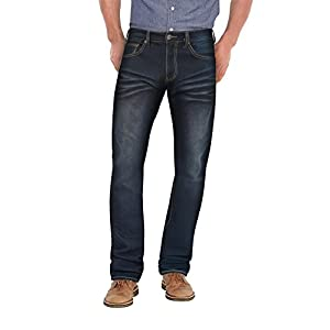 Men's Super Comfy Straight Stretch  Denim Jean