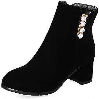BalaMasa Womens ABS14155 Pu Boots