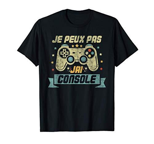 Je Peux Pas J'ai Console Cadeau Ado Geek Jeux Video Gamer...
