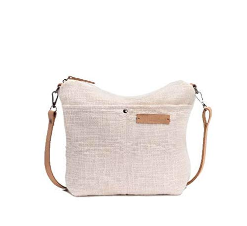 BIBA Shoulder Bag Be Natural CHO4B CHOCO BISCUIT