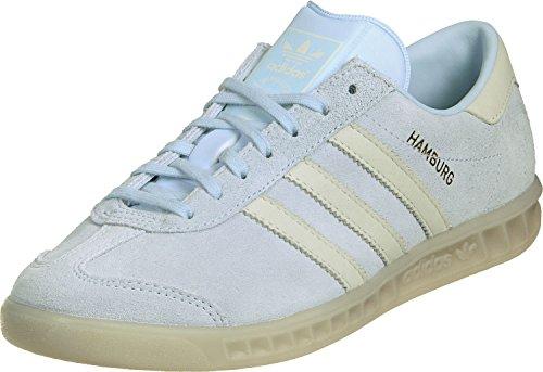 Adidas Women Hamburg W (Ice Blue,Gum) - 36 2/3