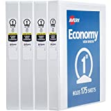 "Best 3 Ring Binders - Avery 1"" Economy View 3 Ring Binder, Round Review"