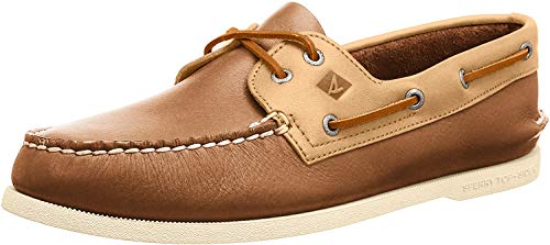 Sperry A/o 2-Eye Leather, Botas Hombre, Sahara/Avena, 40 EU