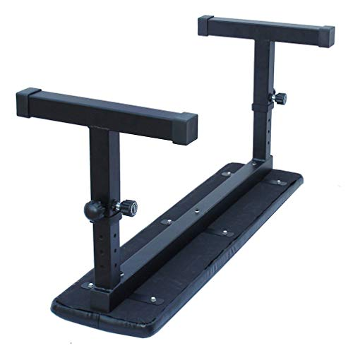 KLB Sport Height Adjustable Utility Flat Weight Bench (Black)