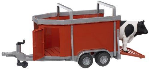 Bruder 02029 - Camión con vaca o toro (animales aleatorios) , color/modelo surtido
