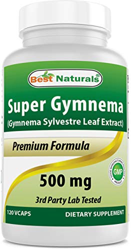 Best Naturals Gymnema Sylvestre leaf 500 mg 120 Capsules
