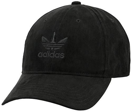 adidas Originals Men's Relaxed Plus Strapback Cap, Black, ONE SIZE