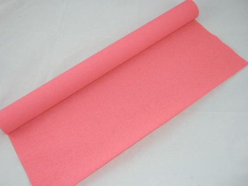 1 Rosa Salmon. Rollo de papel Crepe. 50cm x 10metros. 14 colores vibrantes siempre en stock