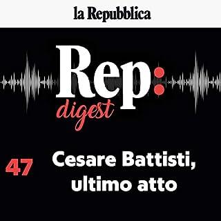 Cesare Battisti, ultimo atto copertina