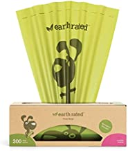 Earth Rated Grab & Go Dog Poop Bag - 300 Waste Bags For Dogs | Extra Thick Lavender-Scented Doggie Bags with Leak-Proof Security