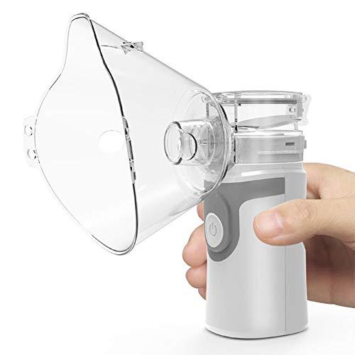 TX Nebulizador Portátil Inhalador Eléctrico Vaporizador Atomizador De Compresión De Aire Mini-Tamaño...