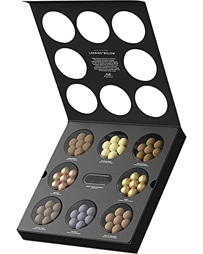 LAKRIDS BY BÜLOW - Selection Box - 375g - Pralinen-Geschenk mit Dänischen Gourmet Lakritz-Kugeln - Weicher Lakritzkern umhüllt von Cremiger Schokolade - Lakritz Schokoladen Geschenk