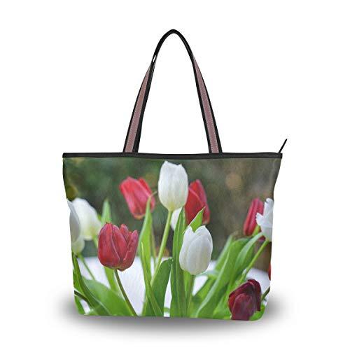LENNEL Strauß Tulpe Handtasche Frauen...