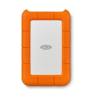 LaCie Rugged Mini 1TB External Hard Drive Portable HDD – USB 3.0 USB 2.0 compatible, Drop Shock Dust Rain Resistant…